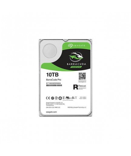 Seagate BarraCuda Pro ST10000DM0004 10TB 7200RPM SATA 6.0 GB/s 256MB