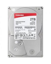 "Toshiba 2TB HDWD120UZSVA 7200 RPM SATA III 3.5"""