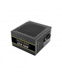 Antec NeoECO Gold Zen NE700G Zen 700 Watts 80P GOLD / 120 mm Silent Fan, LLC + DC to DC Design, Japanese Caps, 99%+12V Output, CircuitShield Protection