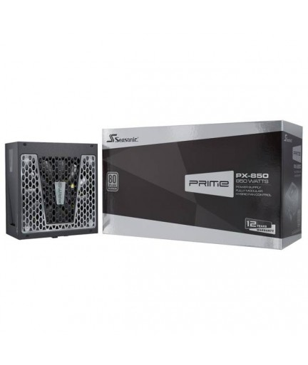 Seasonic PRIME PX-850, 850W 80+ Platinum, Full Modular, Fan Control in Fanless, Silent, and Cooling Mode,   SSR-850PD.