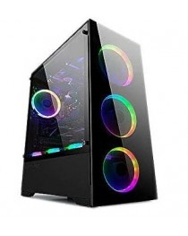 BGears b-Voguish Full Tempered Glass Dual Chamber layout Mid Tower