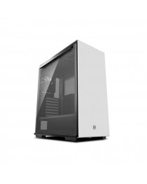 DEEPCOOL MACUBE 310 WH Gamer Storm MACUBE 310 White ATX Mid Tower Case Full-size Magnetic Tempered Glass Built-in Fan Hub and Graphics Card holder