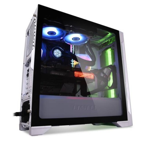 Lian Li LANCOOL ONE DIGITAL ATX Mid Tower w/ Front Panel Addressable RGB LED (White)