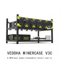 VEDDHA PROFESSIONAL RACK FOR 6 GPU