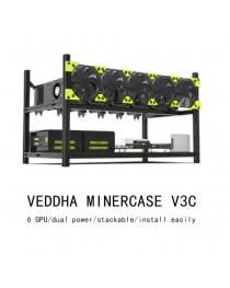 VEDDHA PROFESSIONAL RACK FOR 6 GPU