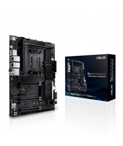 Asus PRO WS X570-ACE Socket AM4/ AMD X570/ DDR4/ 3-Way CrossFireX & 2-Way SLI/ SATA3&USB3.2/ M.2/ A&V&GbE/ ATX