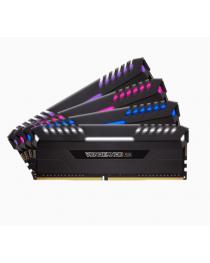 VENGEANCE® RGB 64GB (4 x 16GB) DDR4 DRAM 3200MHz C16 Memory Kit
