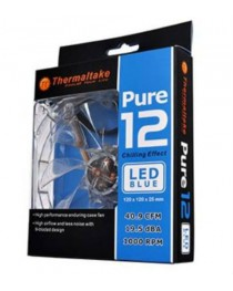 CASE FAN THERMALTAKE PURE 120MM LED BLUE