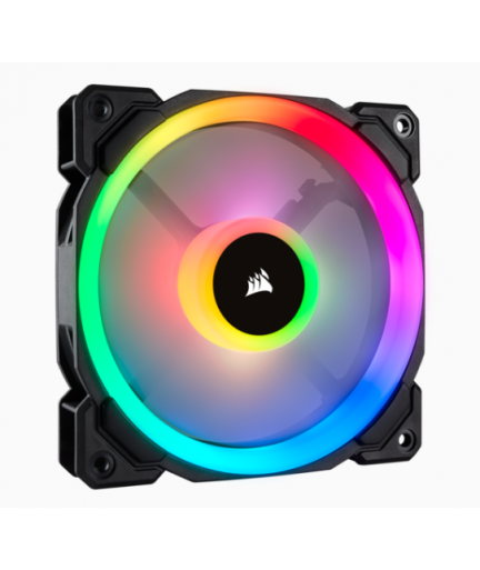 corsair LL120 RGB 120mm Dual Light Loop RGB LED PWM Fan/ Single Pack