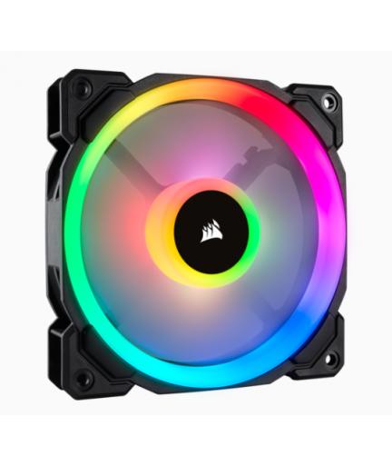 corsair LL120 RGB 120mm Dual Light Loop RGB LED PWM Fan/ Single Pack
