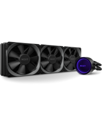 NZXT Kraken X73 RL-KRX73-01 High-performance 360mm AIO liquid cooler with RGB