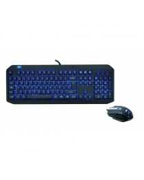 KIT GTC BLUE MOON CBG-006 TECLADO RETROLUMINADO + MOUSE