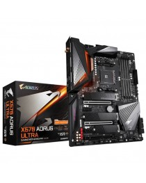 GIGABYTE X570 AORUS ULTRA  AM4 X570/ DDR4/ 4xCRSSFx & SLI / PCIE 4.0/ SATA3&USB3.2/ M2/ WIFI/ BTH ATX