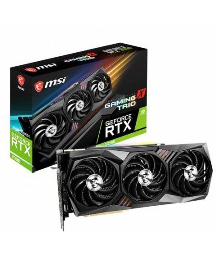 MSI RTX 3090 GAMING X TRIO 24GB GDDR6X HDMI/3DP PCI-E 4.0