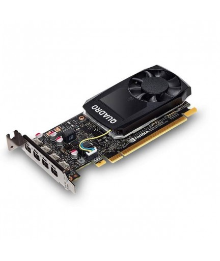 PNY NVIDIA Quadro P1000 4GB GDDR5 4Mini DisplayPorts PCI-E