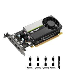 PNY NVIDIA Quadro T1000 VCNT1000-PB 4GB GDDR6 4Mini-DP  Low Profile
