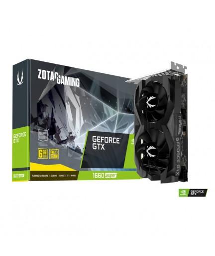 ZOTAC GAMING NVIDIA GeForce GTX 1660 Twin Fan 6GB GDDR6 HDMI/3DPrts PCI-E