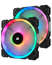 Corsair LL140 Dual Light Loop RGB LED Fan Kit