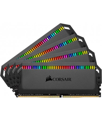 CORSAIR 64GB (4 X 16GB) DOMINATOR PLATINUM RGB 3200MHZ